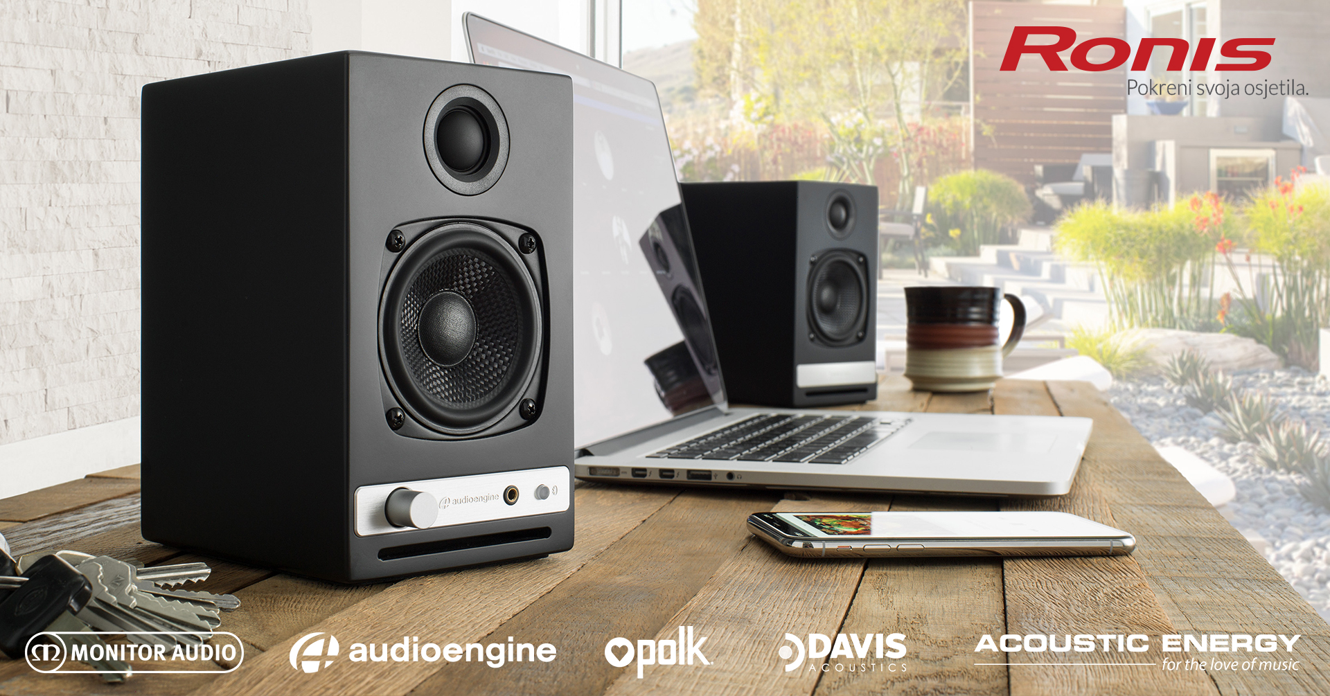 HI-FI SUPER AKCIJA Uhvati do 44% popusta na Audioengine, Davis Acoustics, Polk, Acoustic Energy i Mo