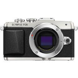 Fotoaparat OLYMPUS E-PL7 Body srebrni + objektiv M.Zuiko 14-42mm 1:3.5 - 5.6 II R srebrni