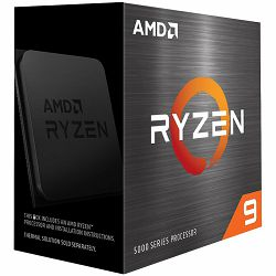 AMD CPU Desktop Ryzen 9 12C/24T 5900X (3.7/4.8GHz Max Boost,70MB,105W,AM4) box