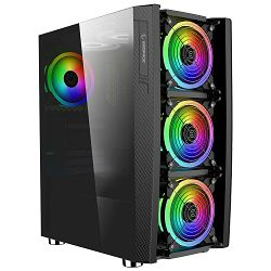 Stolno računalo FENIKS Raven 5016 (Intel i5 -10400F, 8GB, 480GB SSD, AMD Radeon RX560)