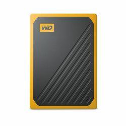 Vanjski prijenosni SSD WD My Passport™ Go Amber 2TB