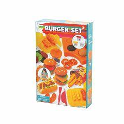 Plastelin set izrada burgera
