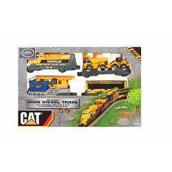 Igračka VLAK NA BATERIJE CAT Iron Diesel