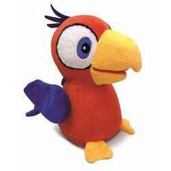Igračka CHARLIE papagaj plišani sa zvukom
