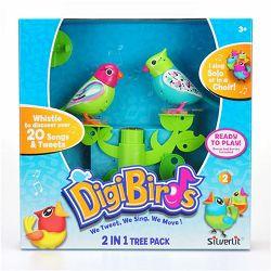 Digibirds - drvo s 2 ptičice SORTO, kolekcija3