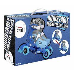 Role 2u1 plave 3 kotača vel. 27-30