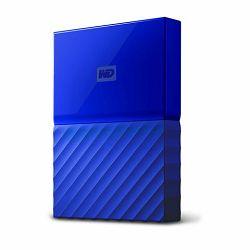 Vanjski tvrdi disk HDD WD MY PASSPORT 1TB blue