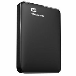 Hard disk HDD EXT. WD ELEMENTS PORTABLE 1TB black