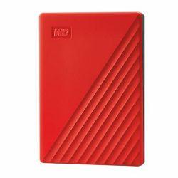 Vanjski Tvrdi Disk WD My Passport™ USB 3.2 Red 2TB