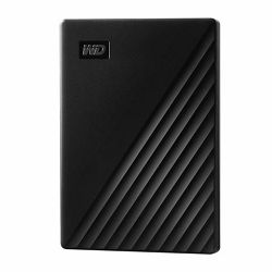 Vanjski tvrdi disk WD My Passport™ USB 3.2 Black 4TB
