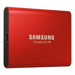 Vanjski SSD SAMSUNG 1TB T5 crveni