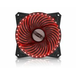 Ventilator za PC MS PC FREEZE 33LED crveni