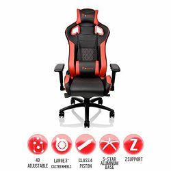 Thermaltake Gaming stolica Fit Series crveno-crna
