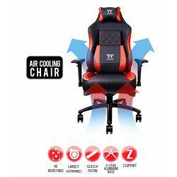 Thermaltake Gaming stolica X Comfort Fan Series crveno-crna