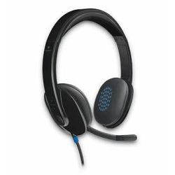 Slušalice s mikrofonom LOGITECH H540, USB