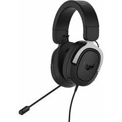 Slušalice s mikrofonom ASUS TUF GAMING H3 SILVER, 3.5mm
