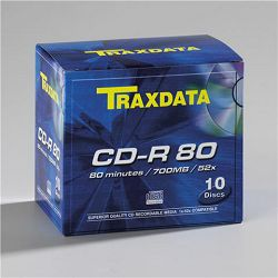 CD-R TRAXDATA optički medij BOX 10 kom