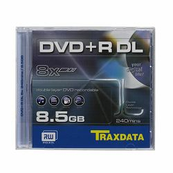 DVD+R DL TRAXDATA 8,5 GB BOX 1 - 1 kom