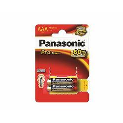 PANASONIC baterije LR03PPG/2BP Alkaline Pro Power