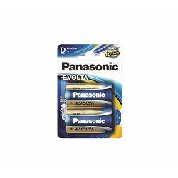 PANASONIC baterije LR20EGE/2BP Alkaline Evolta