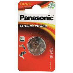 Baterija PANASONIC CR-2450EL/1B, Lithium Coin
