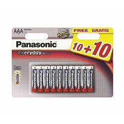 Baterija PANASONIC LR03EPS/20BW 10+10F