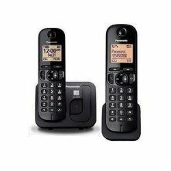 PANASONIC telefon bežični KX-TGC212FXB crni
