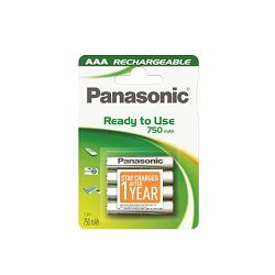 PANASONIC baterije HHR-4MVE/4BC, 750mAh, punj. Ready to use