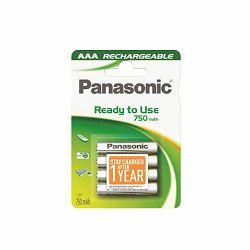 PANASONIC baterije HHR-4MVE/4BC, 750mAh, punj. Ready to use