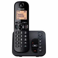 Telefon PANASONIC KX-TGC220FXB (TAM) bežični sekretarica crn