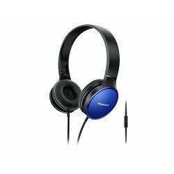 Slušalice PANASONIC RP-HF300ME-A plave, naglavne