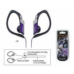 Slušalice PANASONIC RP-HS34E-V ljubičaste
