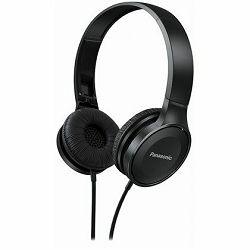 Slušalice PANASONIC RP-HF100ME-K crne, mikrofon