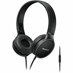 Slušalice PANASONIC RP-HF300ME-K crne, naglavne