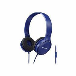 Slušalice PANASONIC RP-HF100ME-A plave, mikrofon