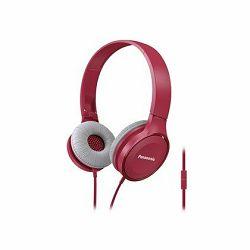 Slušalice PANASONIC RP-HF100ME-P roze, naglavne, mikrofon