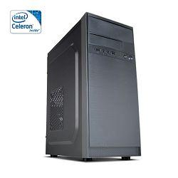 Računalo Hyper X 344 (G3900, 4GB RAM, 1TB HDD, Intel HD, 500W)