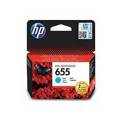 Tinta INK HP CZ110AE ( No. 655) cyan