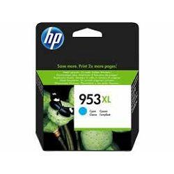 Tinta HP F6U16AE 953XL - cyan