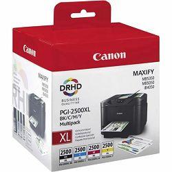 Tinta Canon PGI-2500XL BK/C/M/Y
