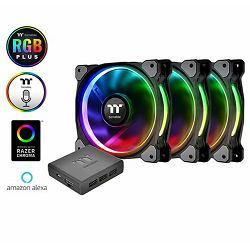 Ventilator za PC THERMALTAKE Riing plus 12 (3 pack)