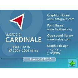 Mireo viaGPS 2.x Europa Upgrade na ver. 1.x (2GB SDcard)