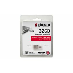 USB memorija KINGSTON 32GB DataTraveler microDuo 3.1 Type-C