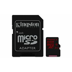 Memorijska kartica  Kingston SD MICRO 64GB HC Class 3