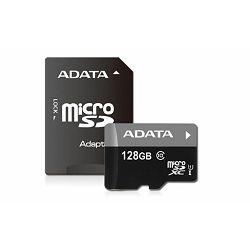 Memorijska kartica ADATA 128GB Class 10 + adapter