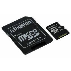 Memorijska kartica KINGSTON SD MICRO 128GB CLASS 10 + 1 AD