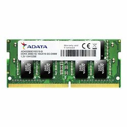 RAM memorija ADATA SO-DIMM DDR4 8GB 2666MHz za prijenosna računa