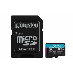 MEM SD MICRO 128GB Canvas Plus GO + ADP