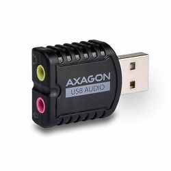 AXAGON ADA-10 USB2.0 - Stereo Audio Mini Adapter