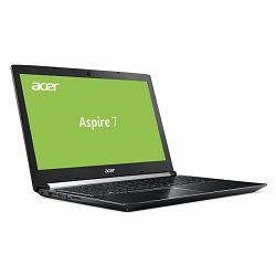 Laptop ACER Aspire 7 A715-72G-74HL NH.GXBEX.04 (15.6, i7, 8GB RAM, 2TB HDD, NVIDIA 4GB, Linux)